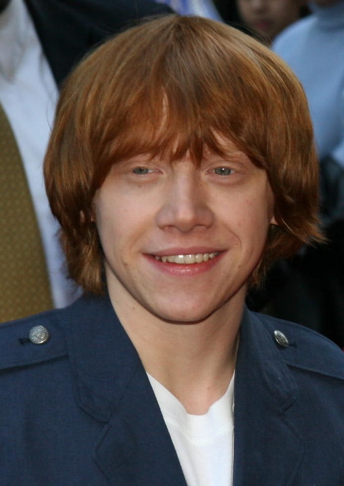 Rupert Grint at the New York City 'Goblet of Fire' premiere