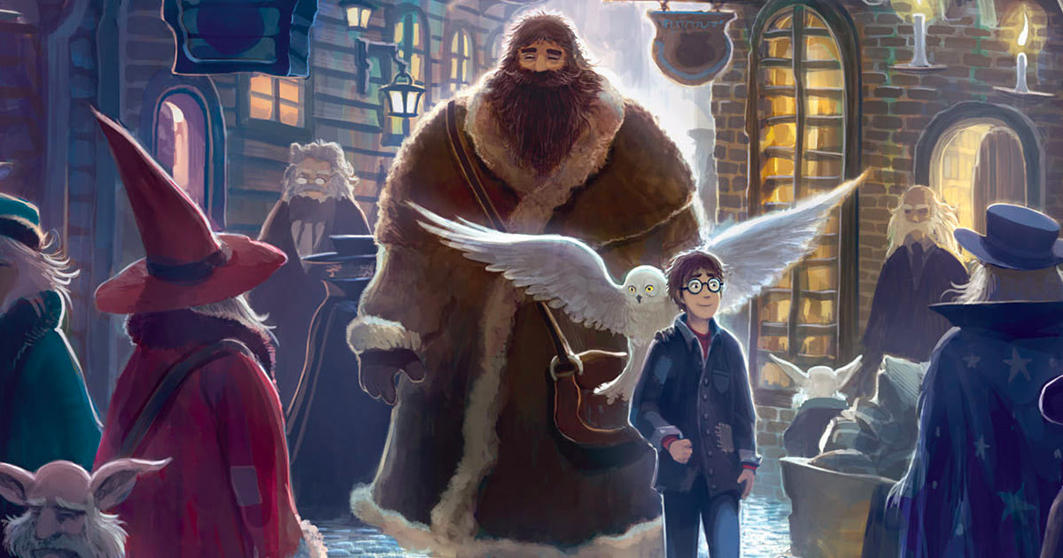 Scholastic re-releasing 'Harry Potter' books with new cover art