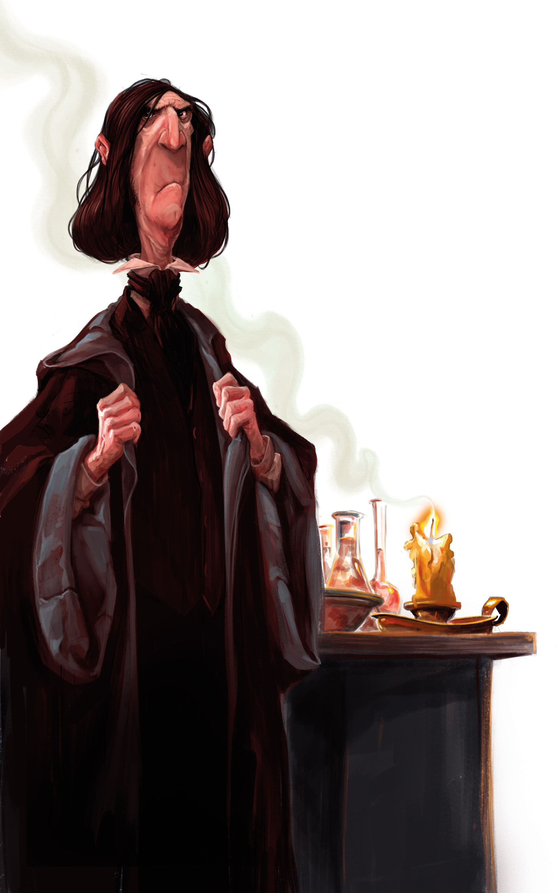 Severus Snape (Jonny Duddle illustration)