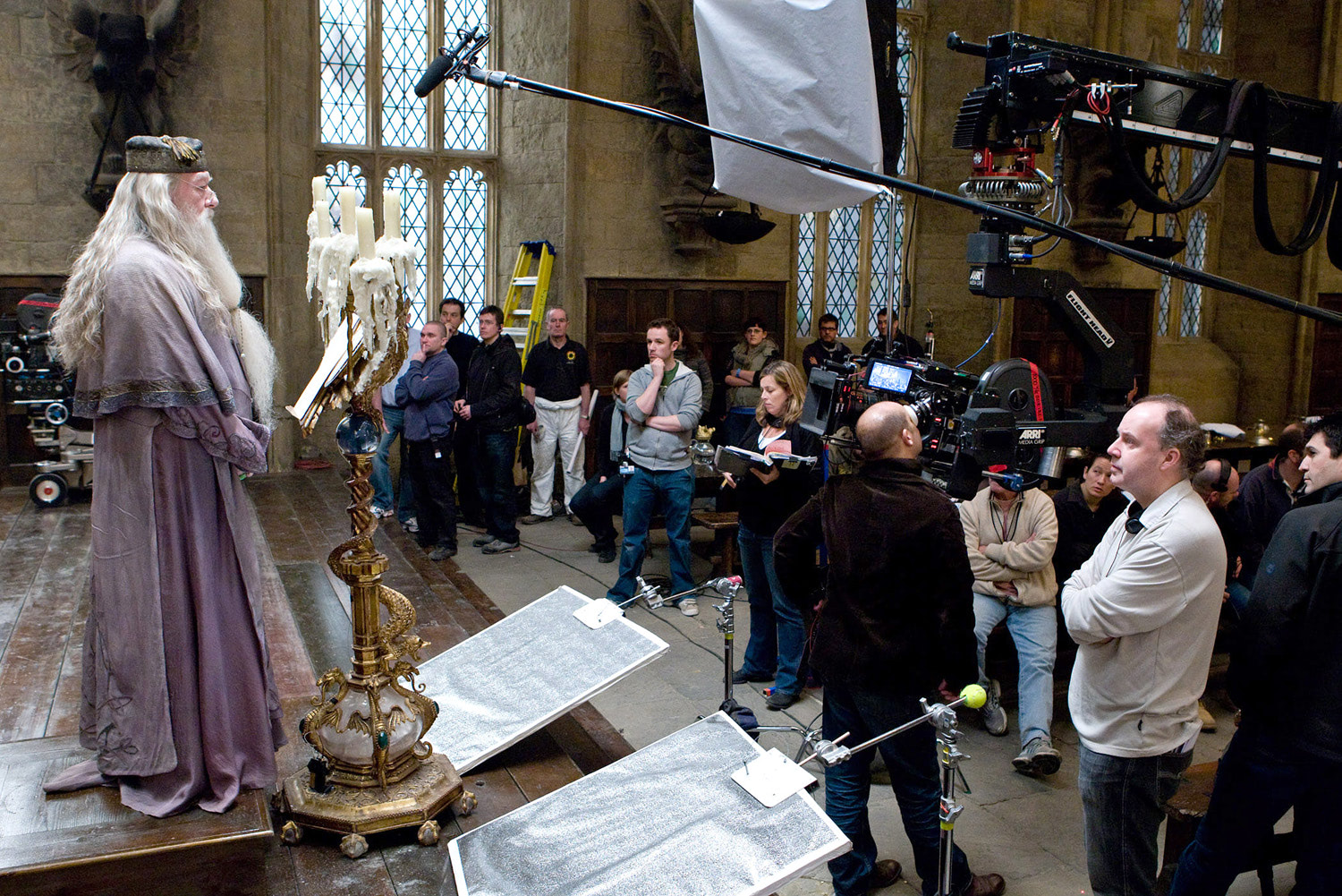 Shooting Dumbledore's Great Hall speech