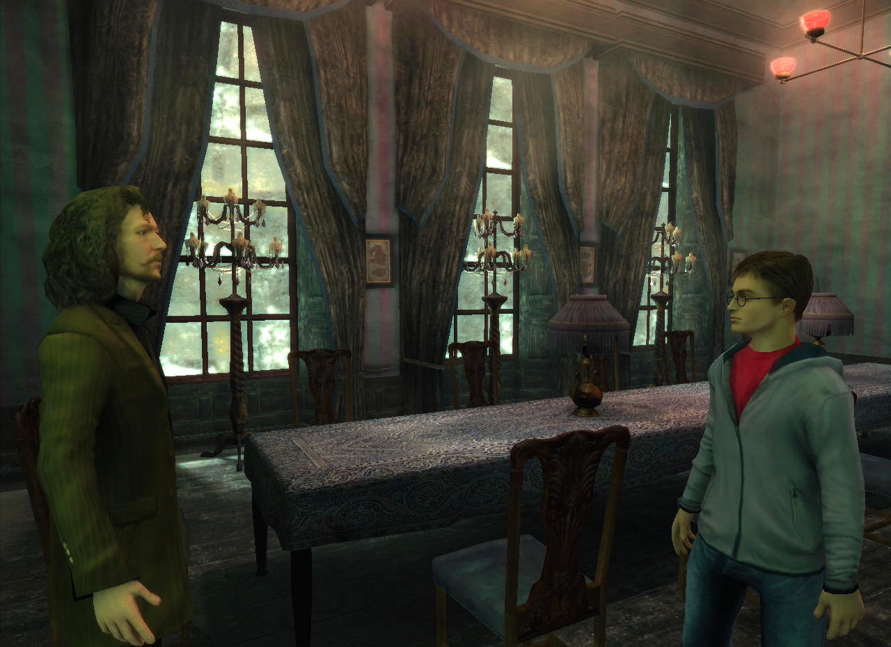 Sirius and Harry (Order of the Phoenix video game)