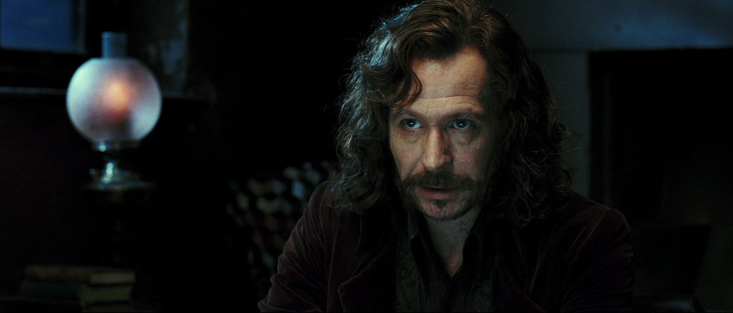 Sirius Black at Grimmauld Place