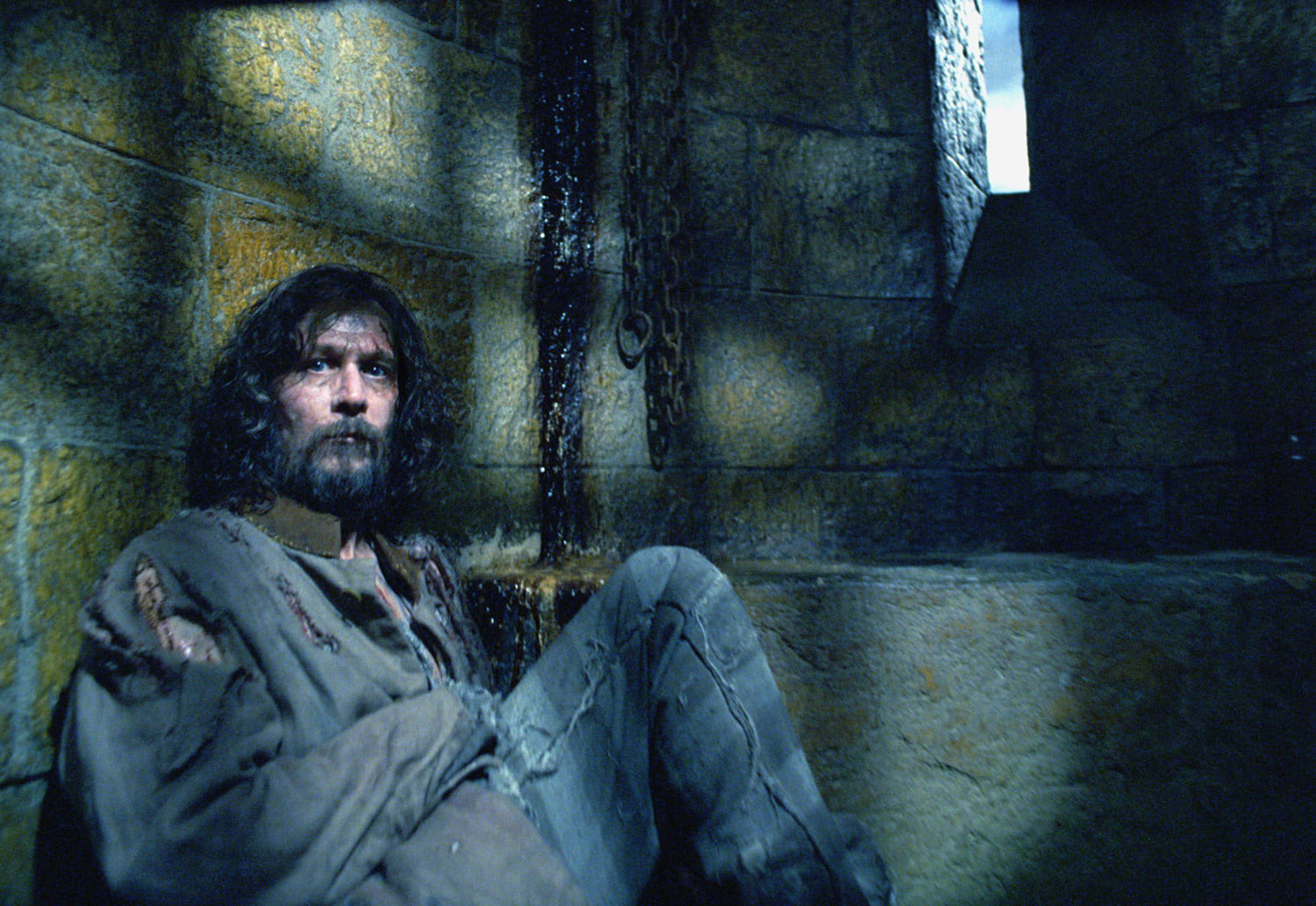 Sirius Black imprisoned