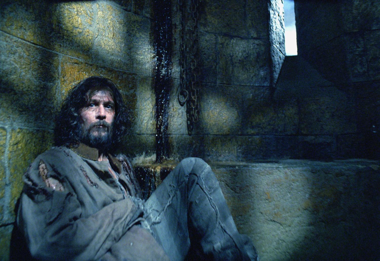 Sirius Black imprisoned