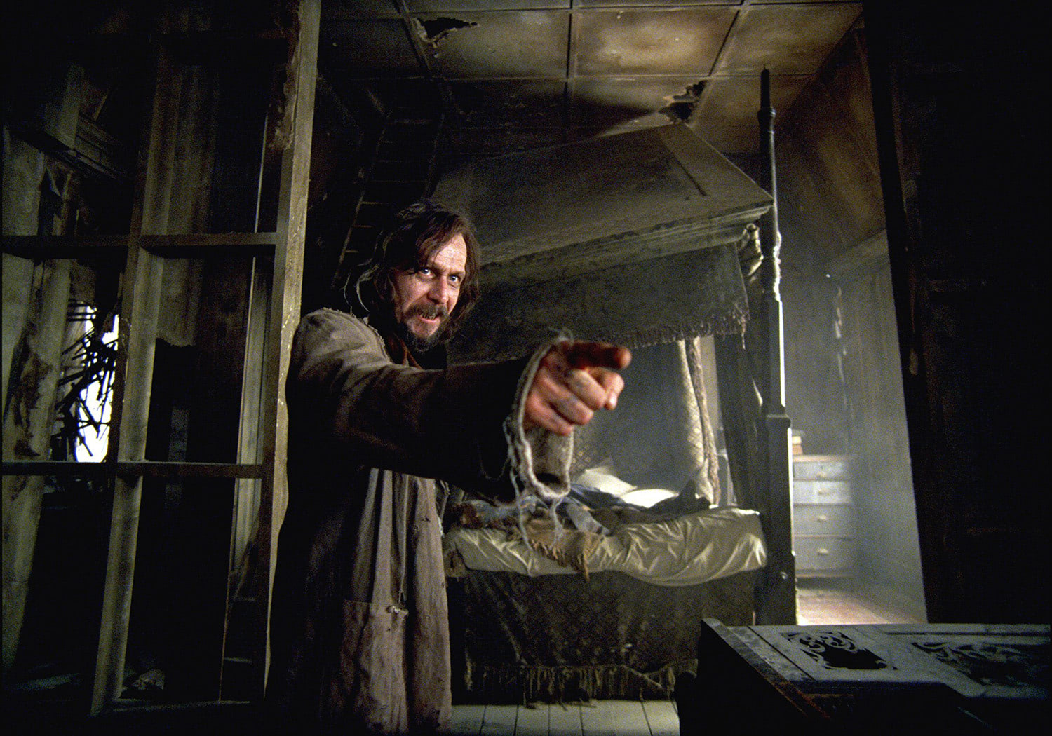 Sirius Black in the Shrieking Shack
