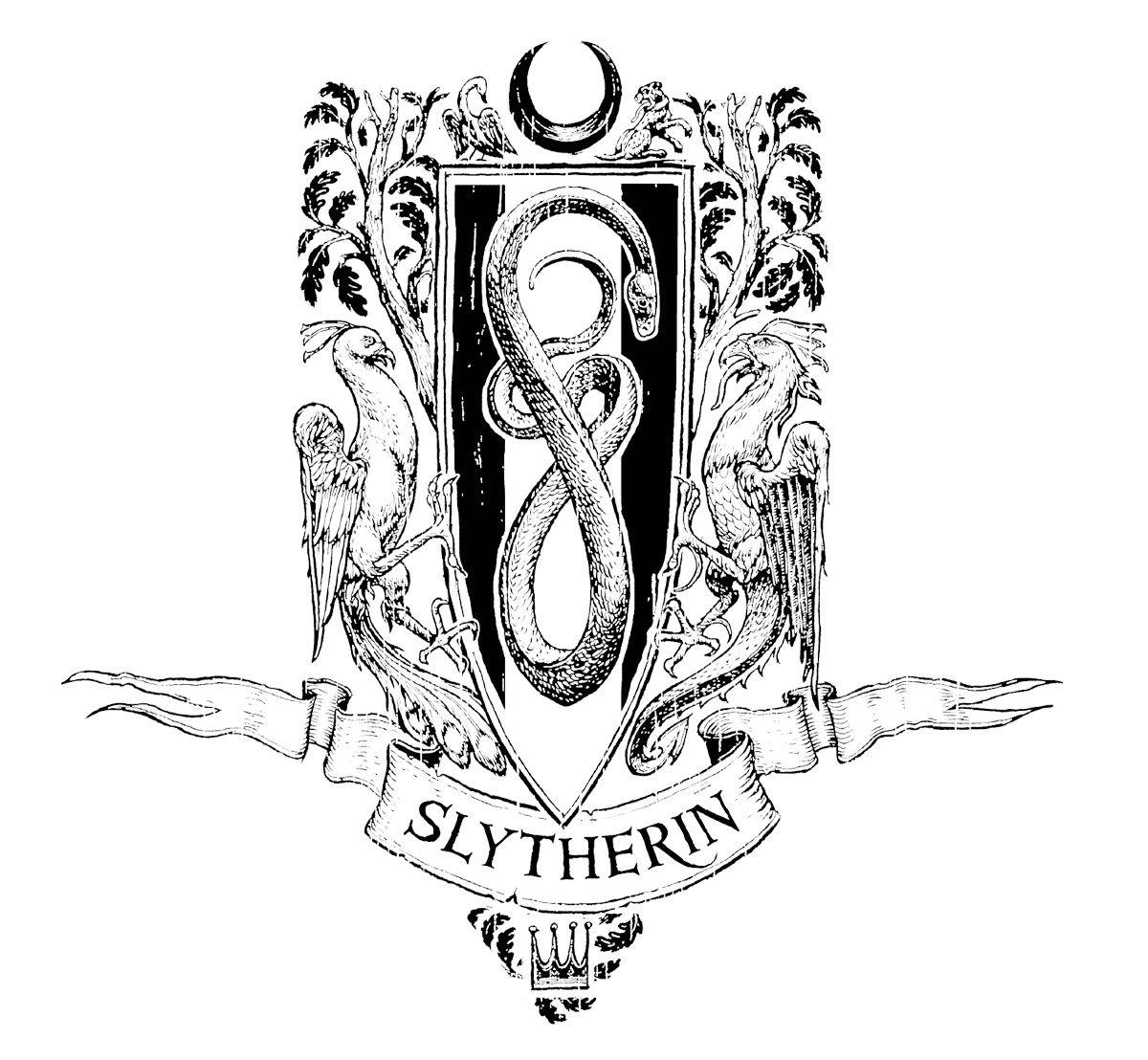 Slytherin Crest (house editions)