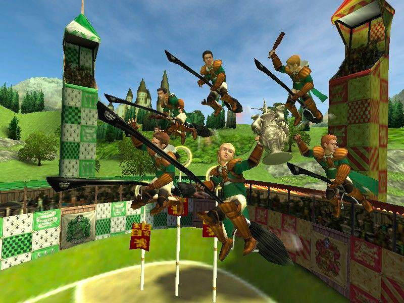 Slytherin team (Quidditch World Cup video game)