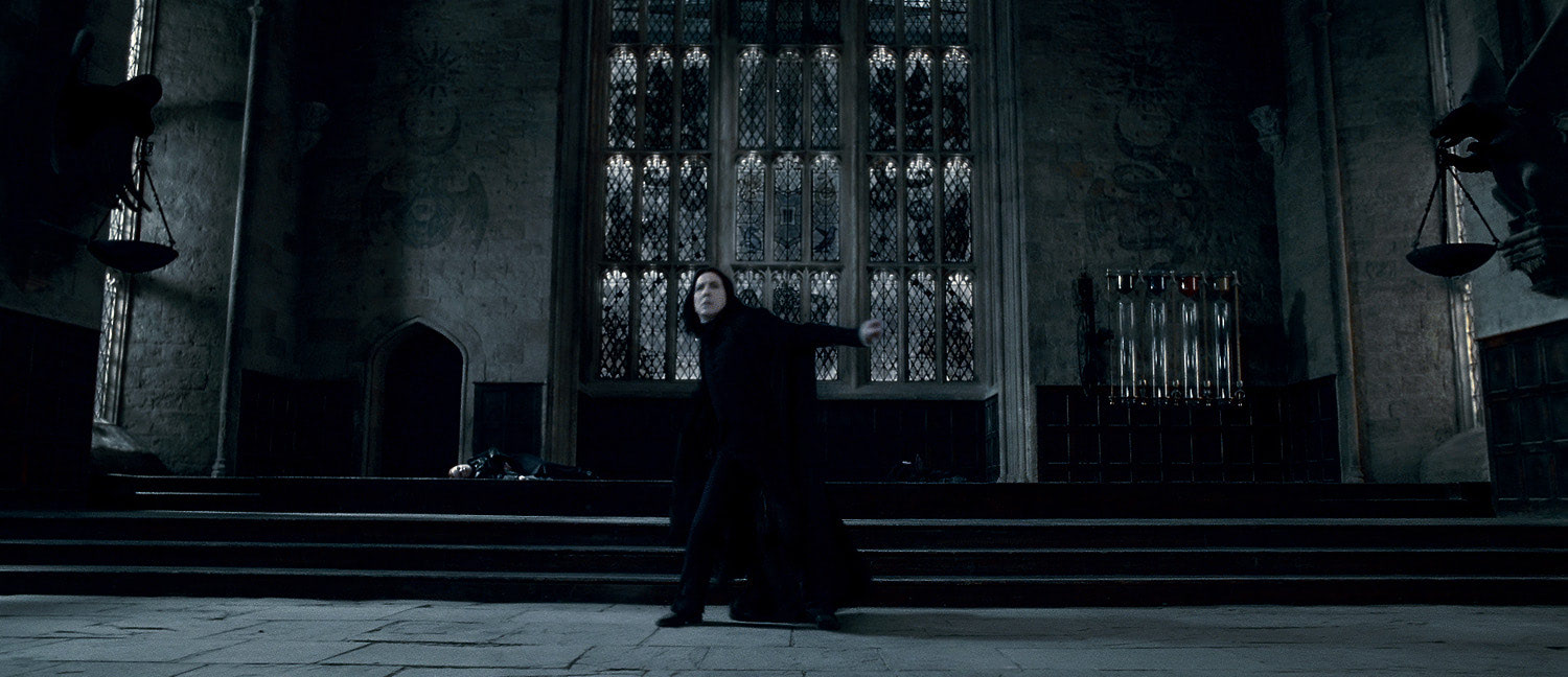 Snape leaves Hogwarts