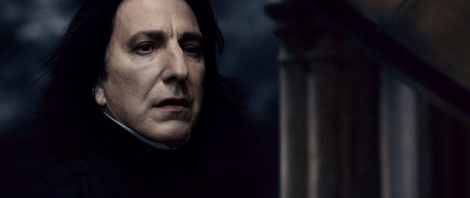 Snape on the Astronomy Tower