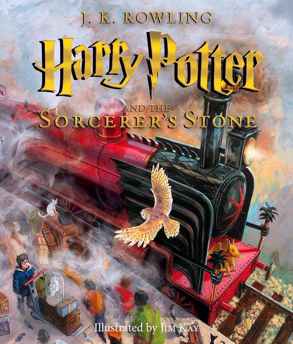 Sorcerer's Stone illustrated edition