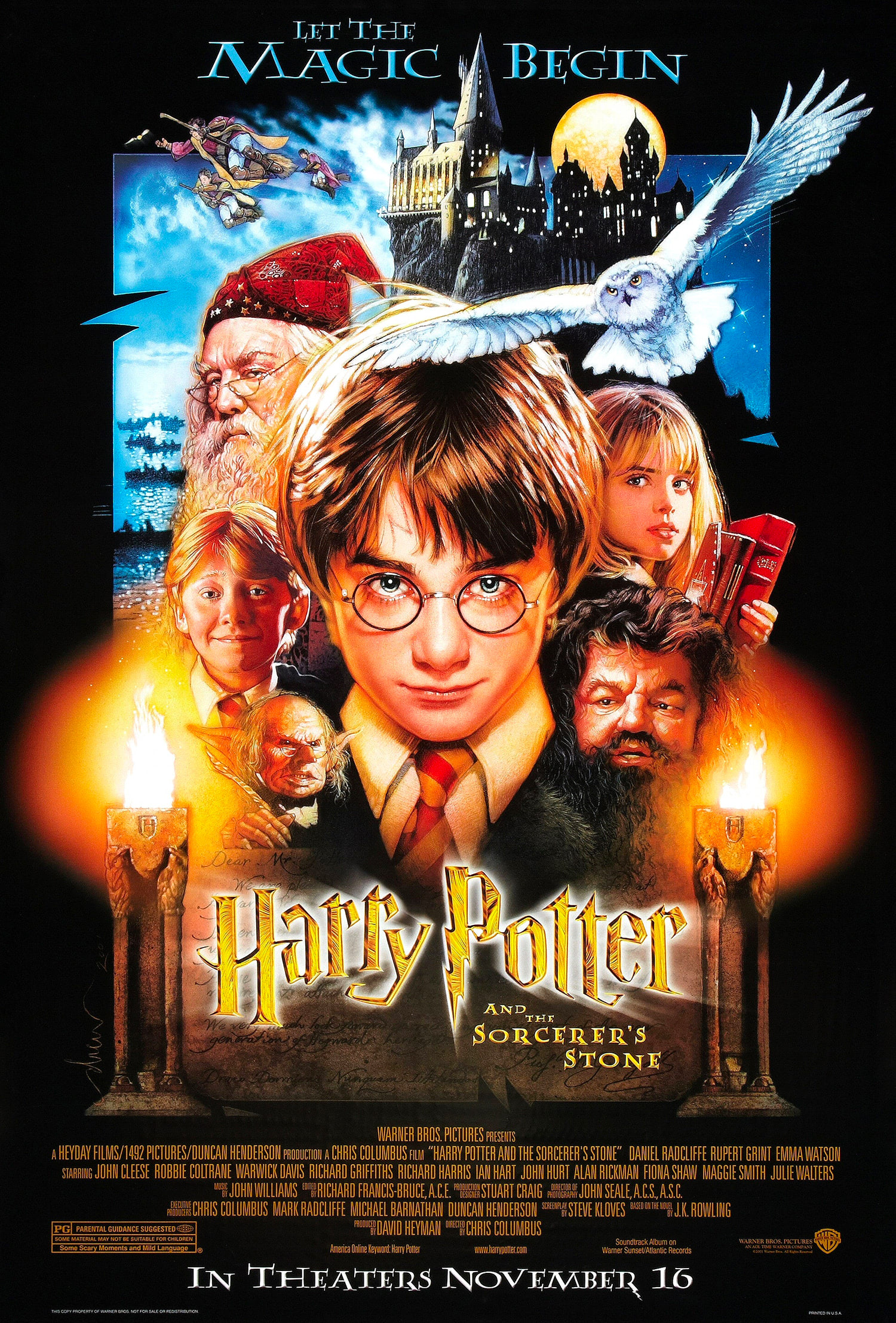 'Sorcerer's Stone' one sheet