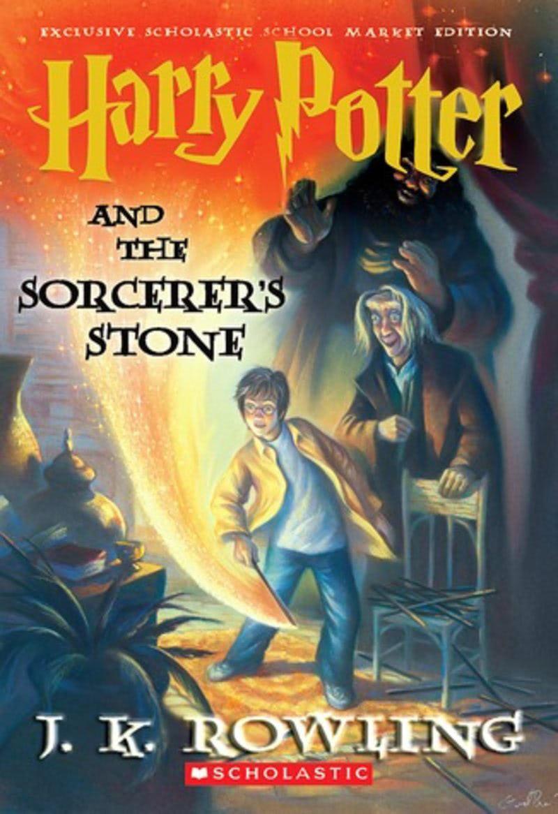 'Sorcerer's Stone' school market edition