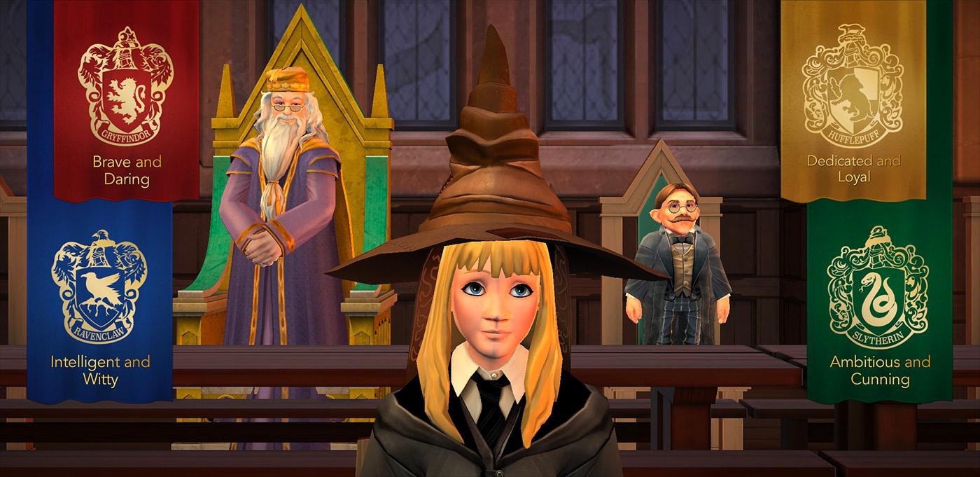 Sorting ceremony (Hogwarts Mystery)
