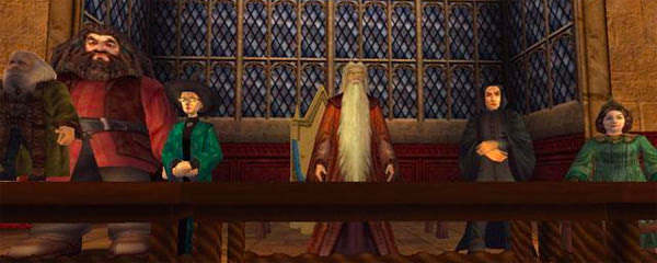 Staff table (Chamber of Secrets video game)