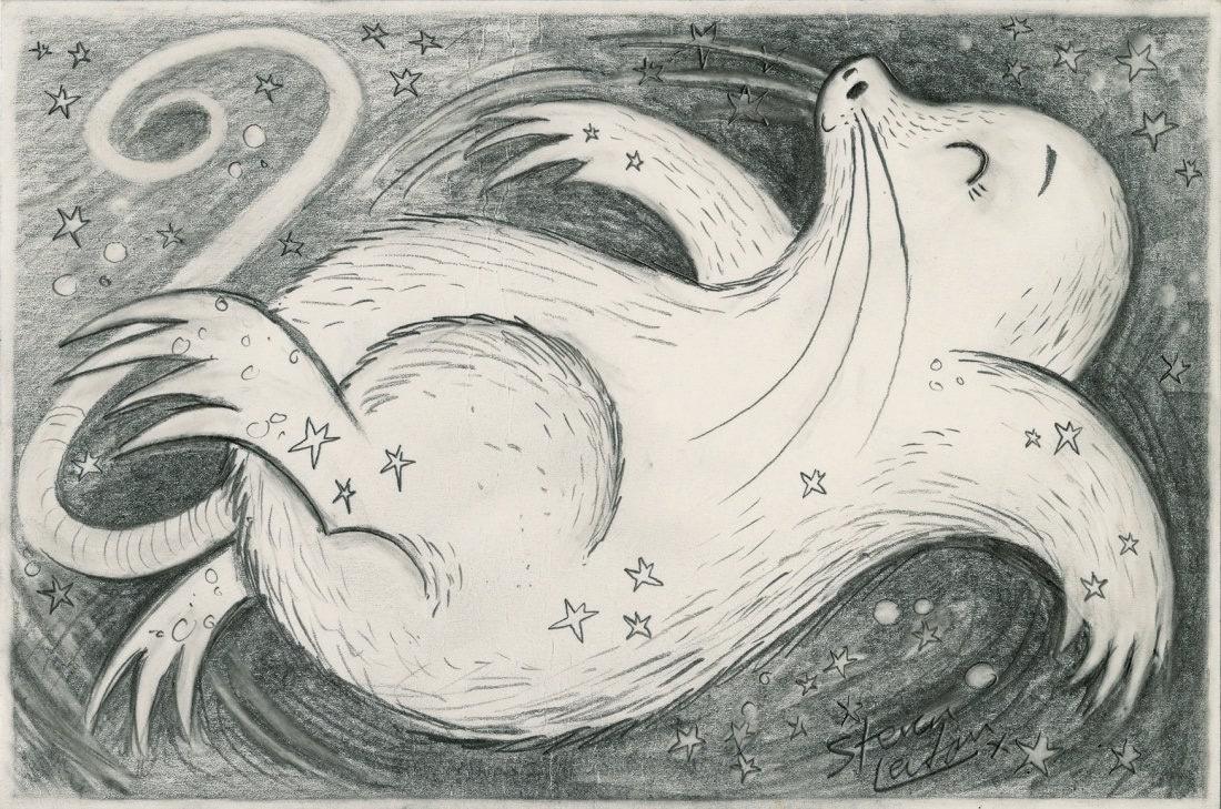 Mole (Steven Lenton Patronus on a Postcard)