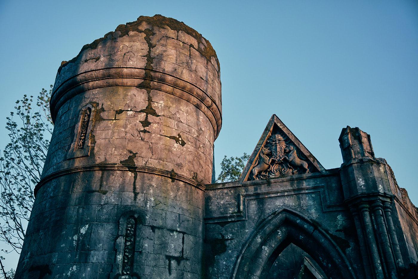 Stone ruins (Hagrid's Magical Creatures Motorbike Adventure)