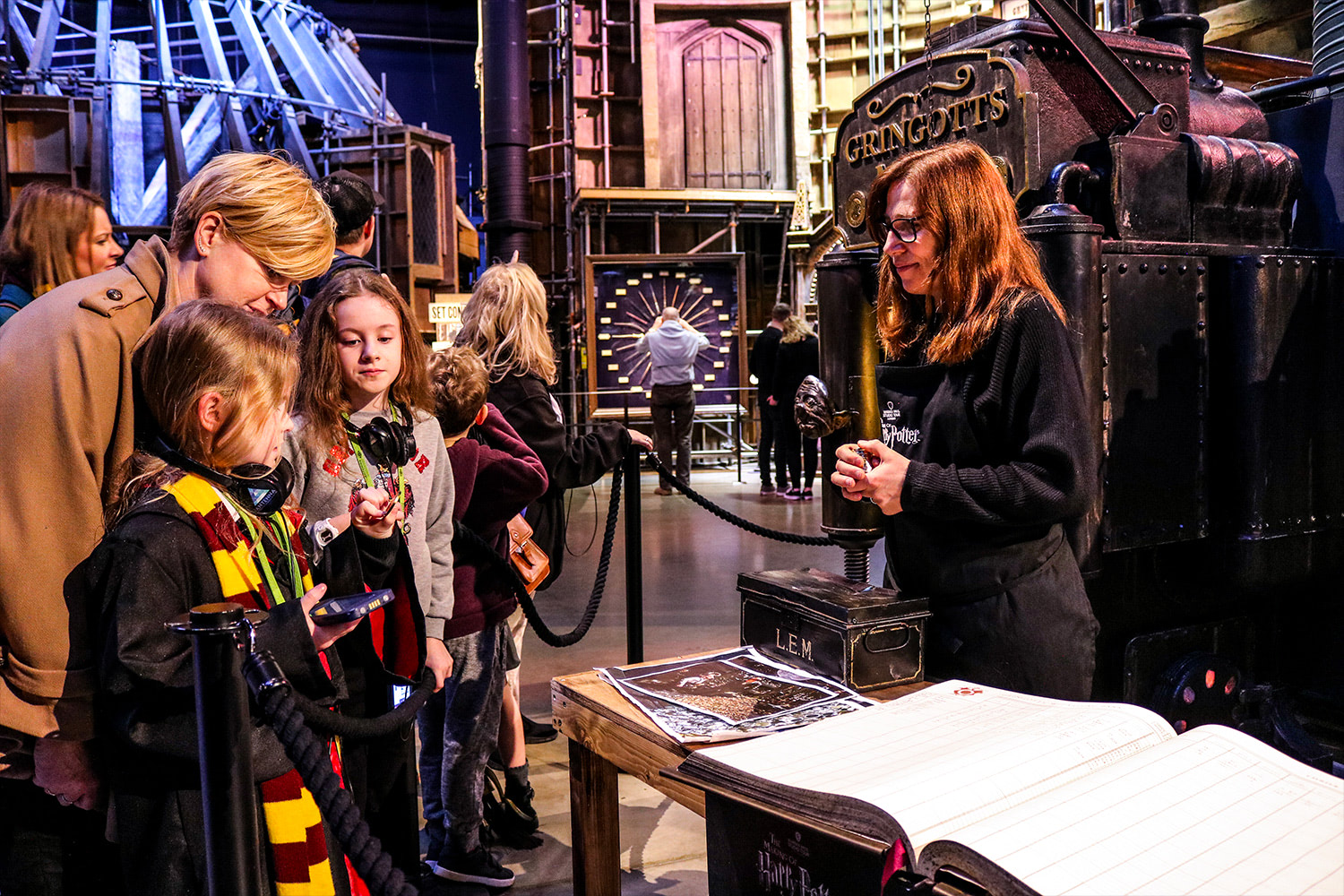 Gringotts at the 'Harry Potter' studio tour