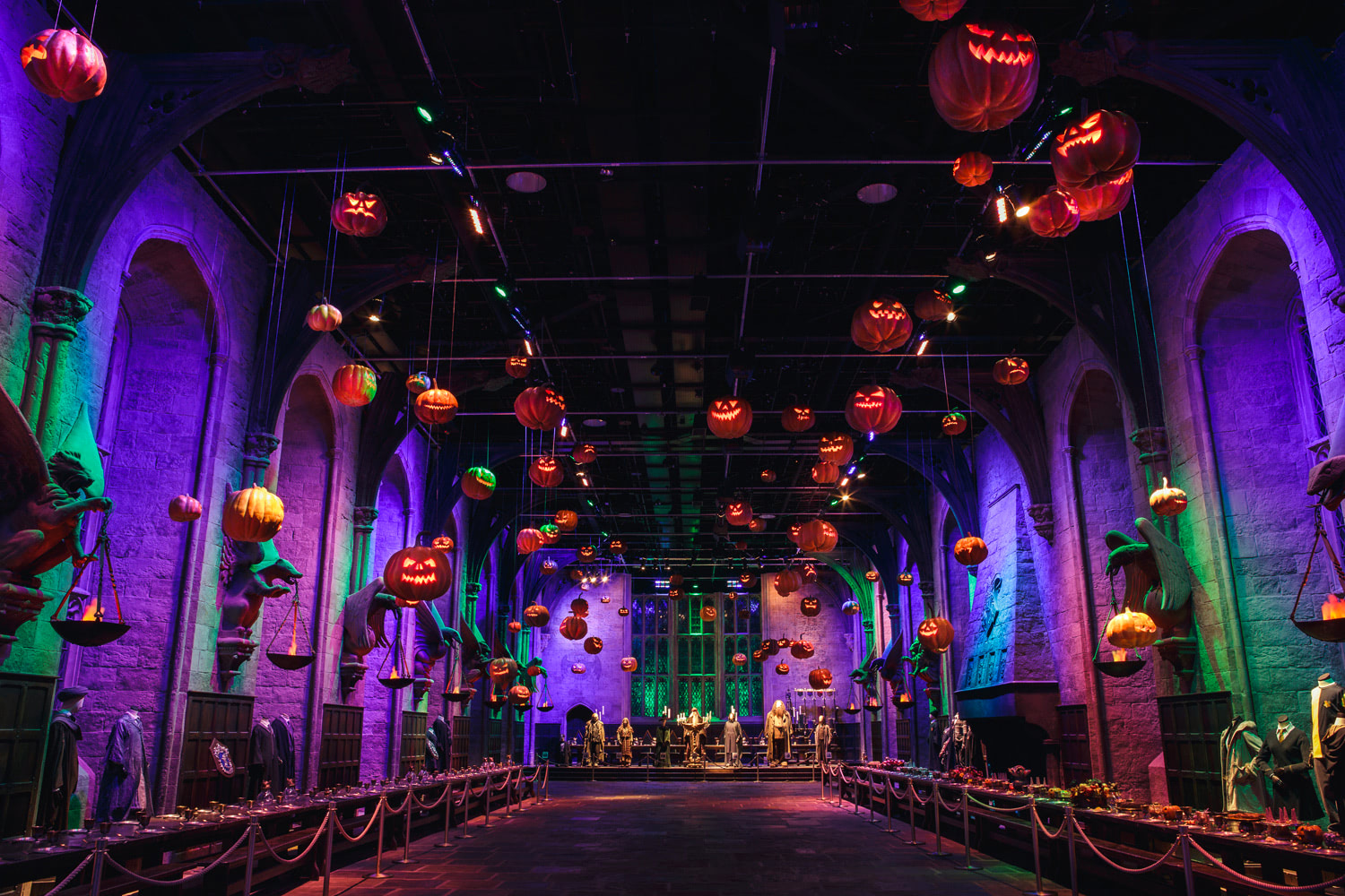 Halloween at the 'Harry Potter' studio tour