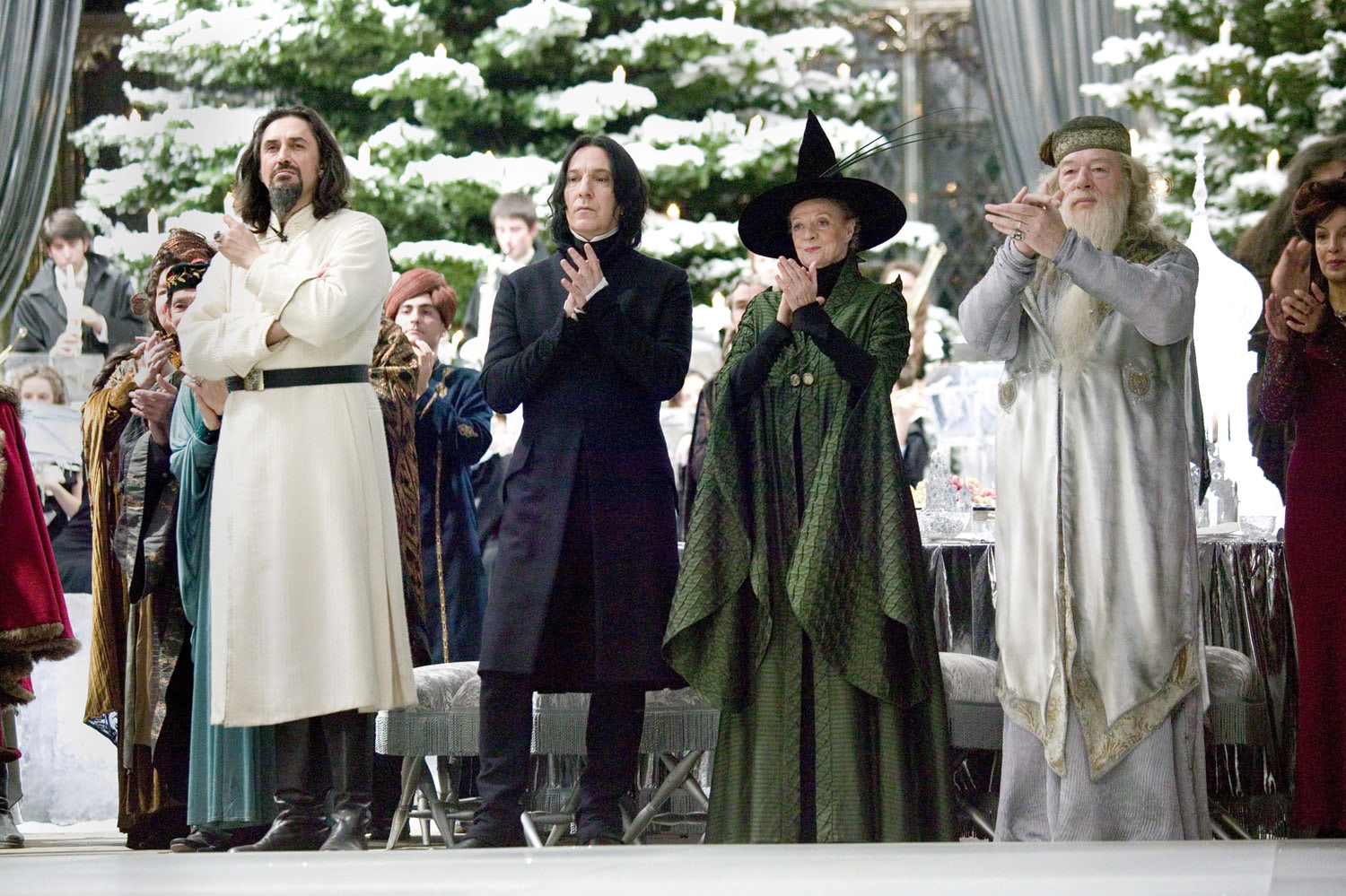 Teachers at the Yule Ball