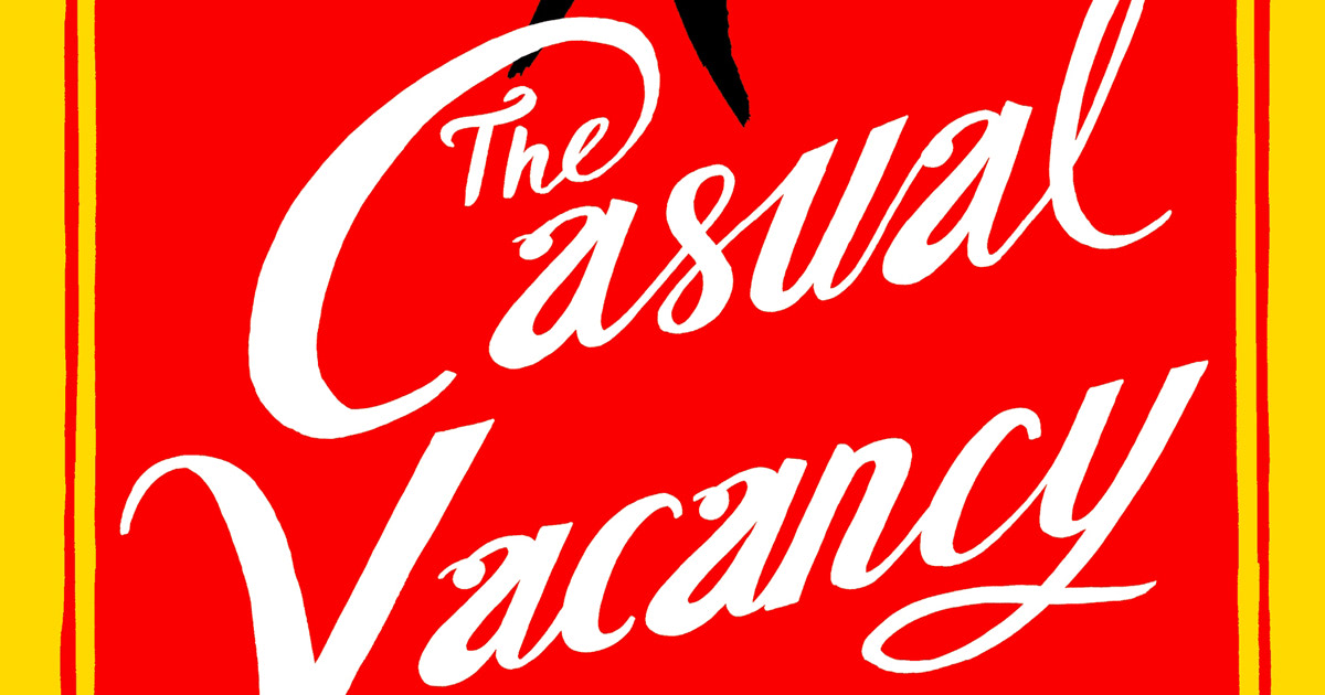 J.K. Rowling's new novel 'The Casual Vacancy' to be released today