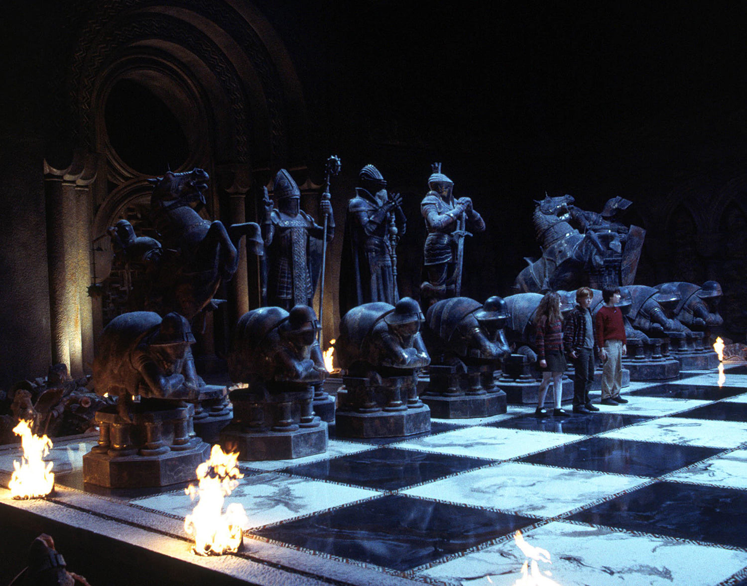 The magic chess match