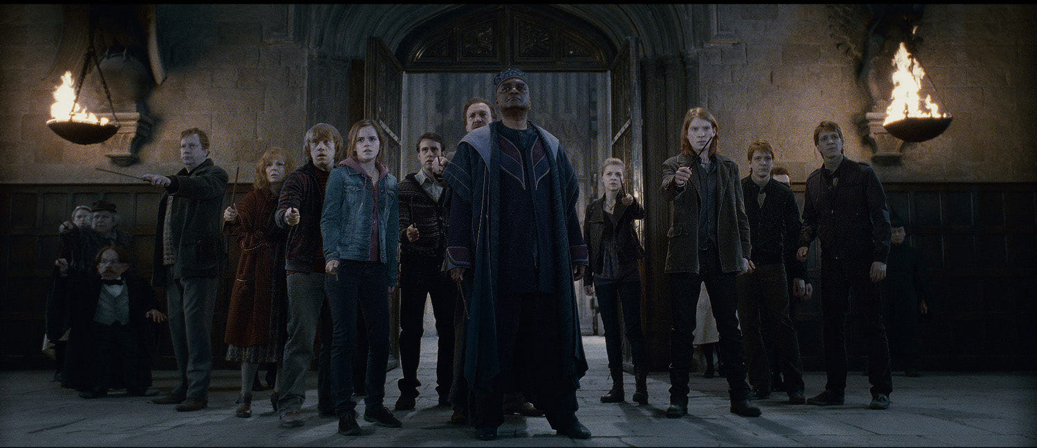 The Order of the Phoenix prepares to fight