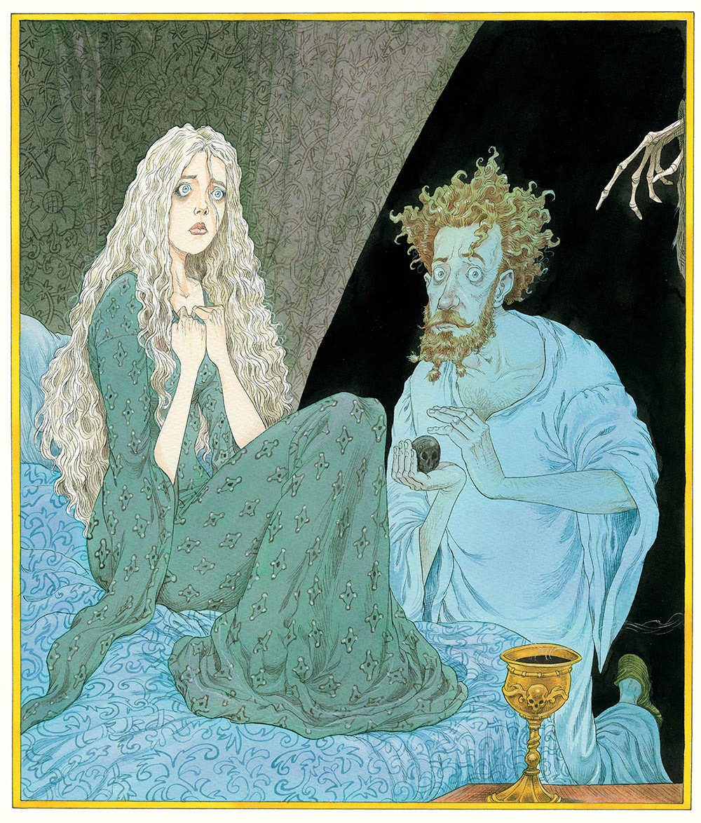 The Tale of the Three Brothers (Chris Riddell)