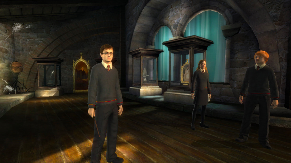 The trio (Order of the Phoenix video game)
