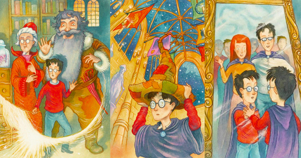 Thomas Taylor's 'Harry Potter' illustrations
