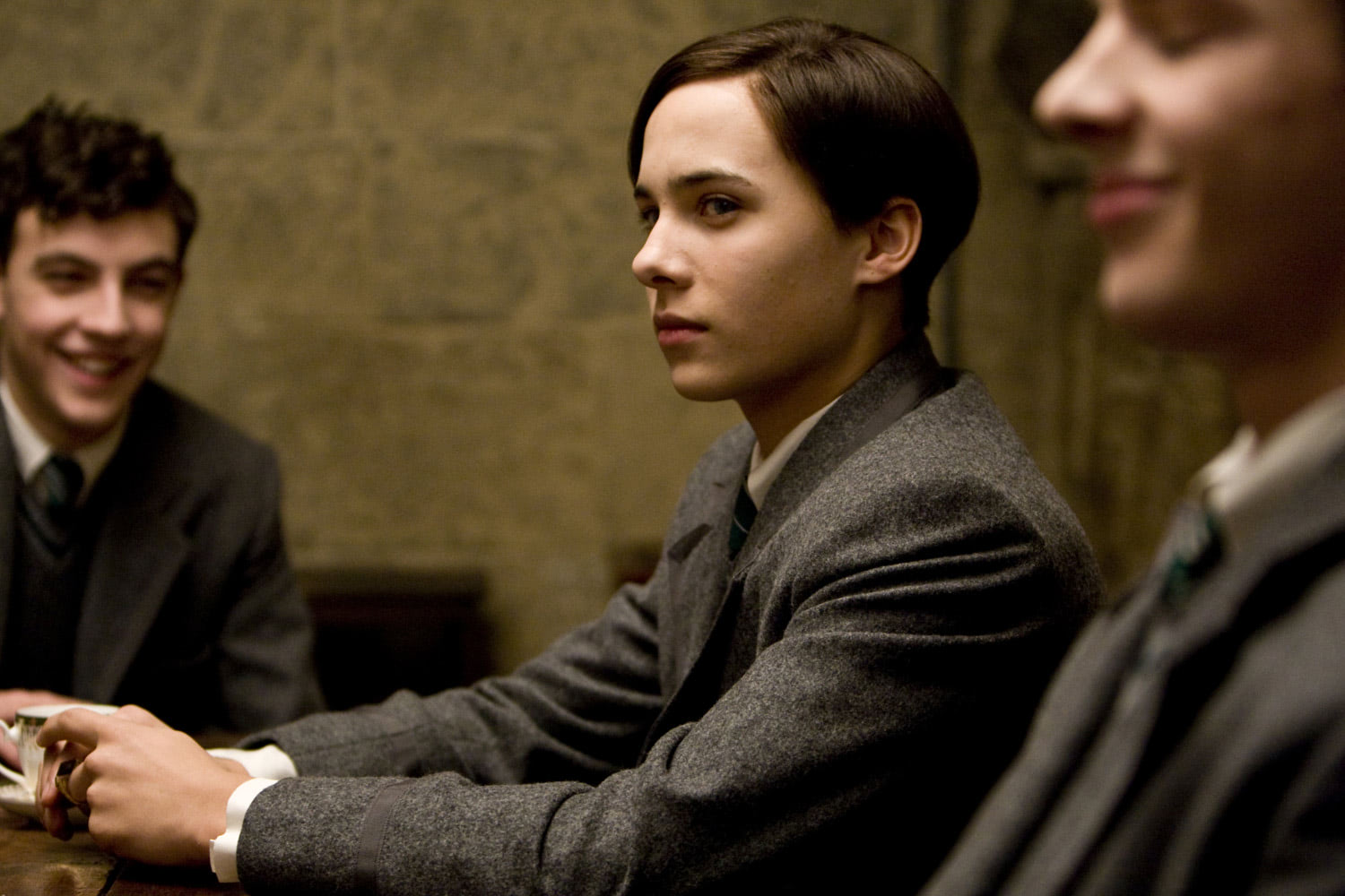 Tom Riddle at the Slug Club