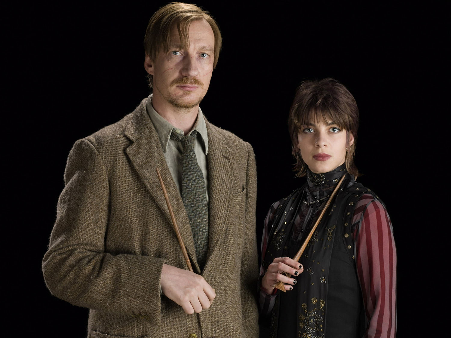 Portrait of Tonks and Lupin