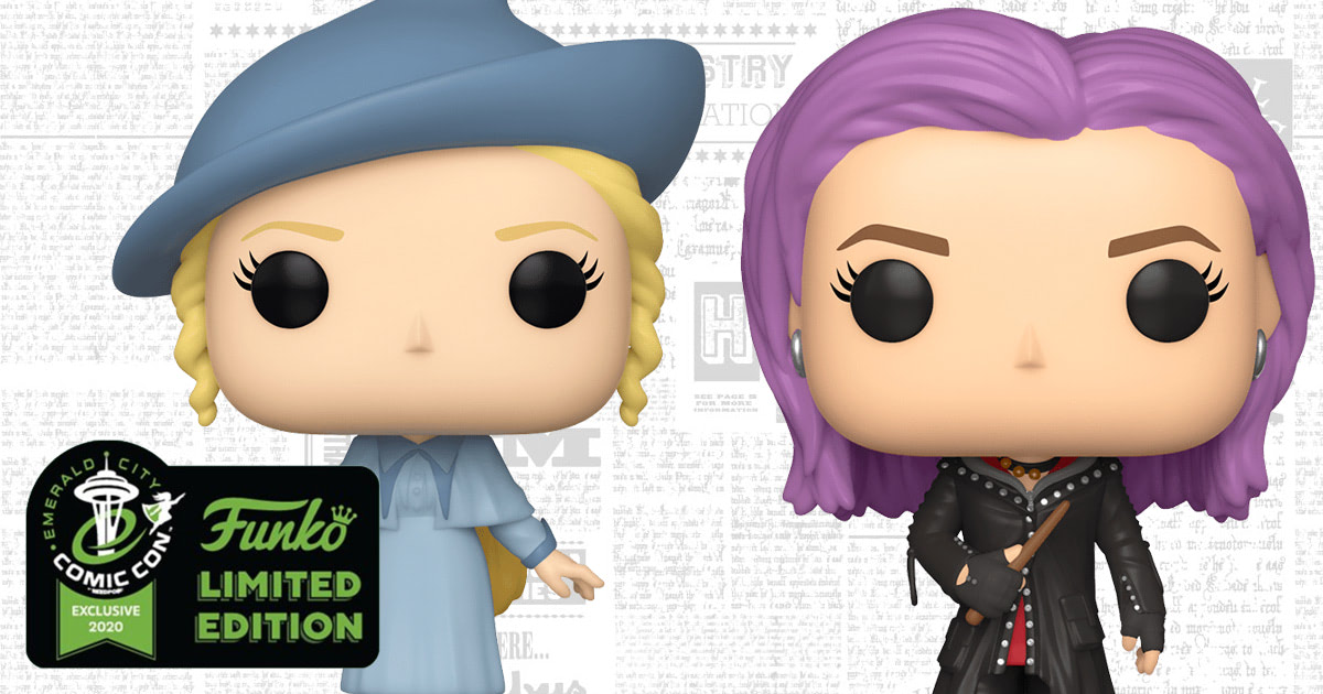 Emerald City Comic Con to debut Tonks and Fleur Funko Pop! Vinyls