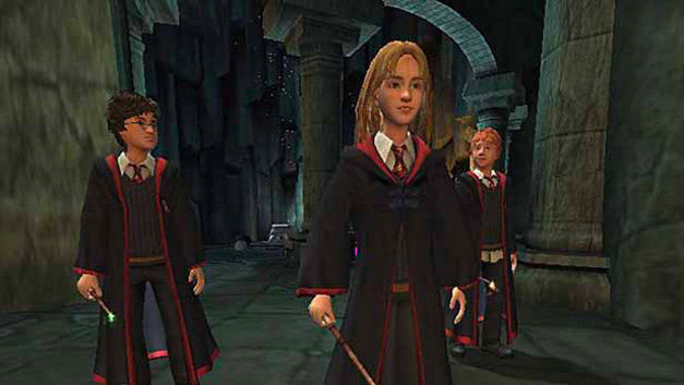 The trio (Prisoner of Azkaban video game)