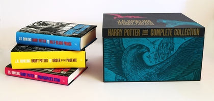 'Harry Potter' adult editions boxed set (2013 re-release)