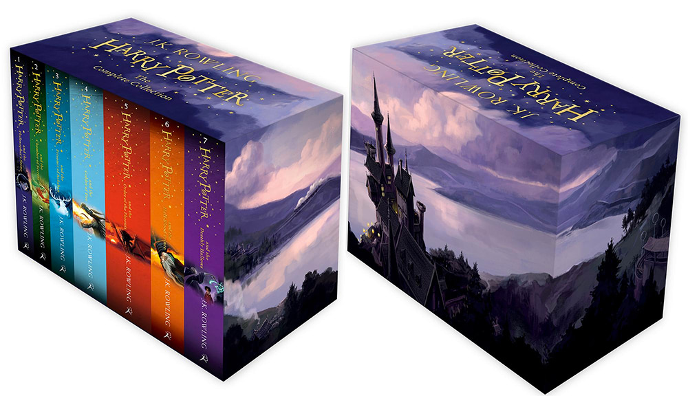 'Harry Potter' boxed set (UK 2014 editions)