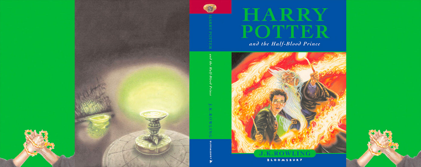'Half-Blood Prince' UK children's edition (full jacket)
