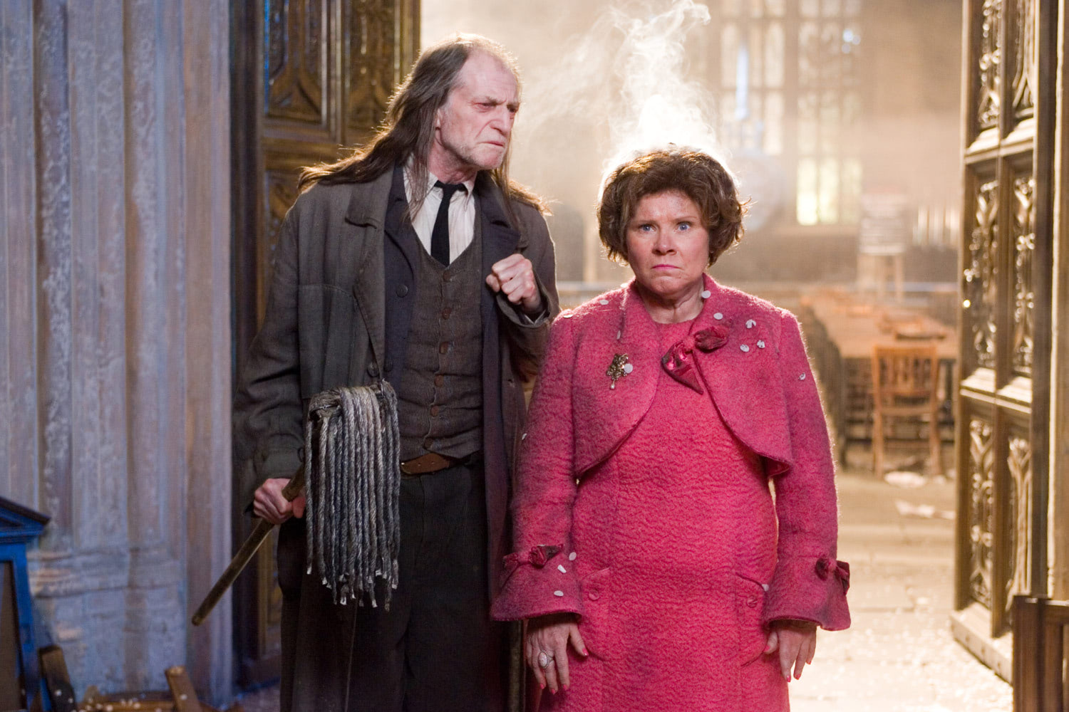 Umbridge after the firework show