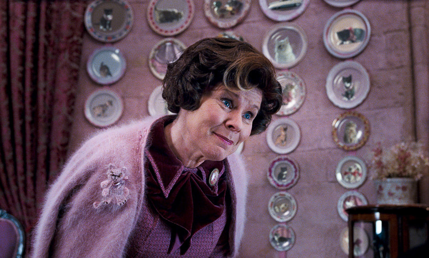 Umbridge in her office
