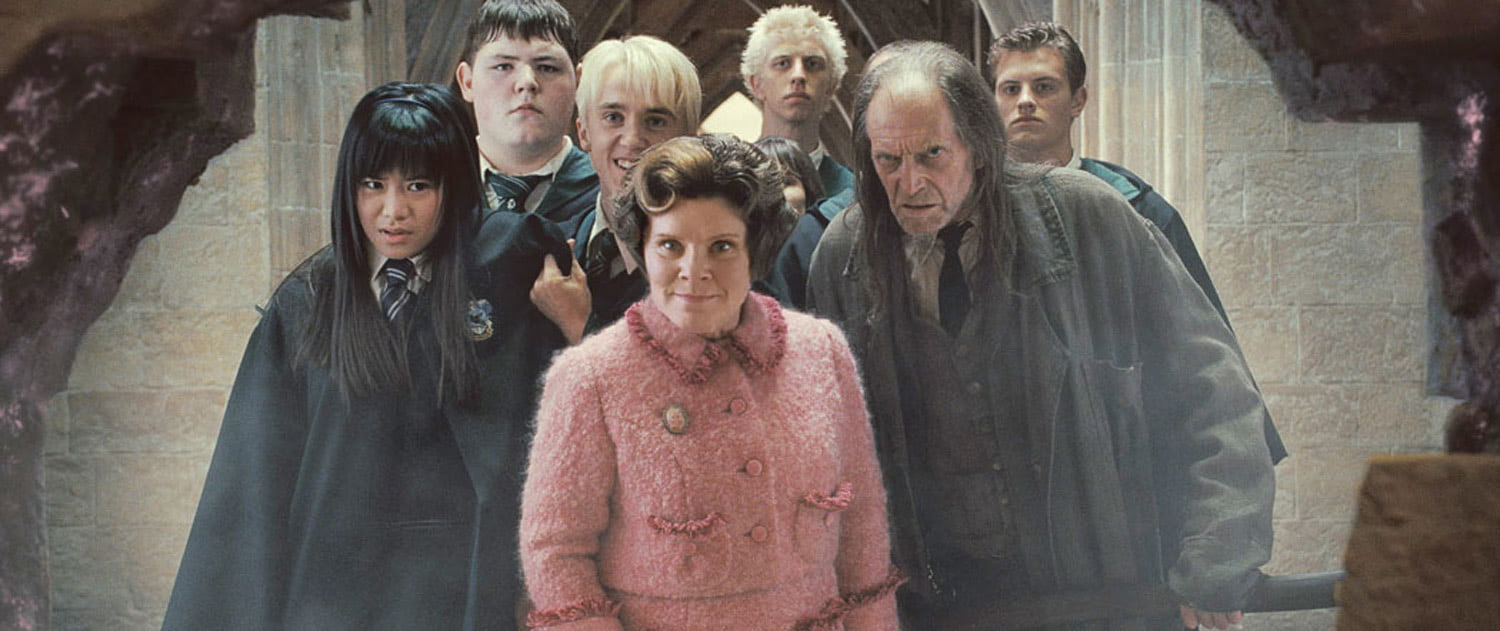 Umbridge and the Inquisitorial Squad