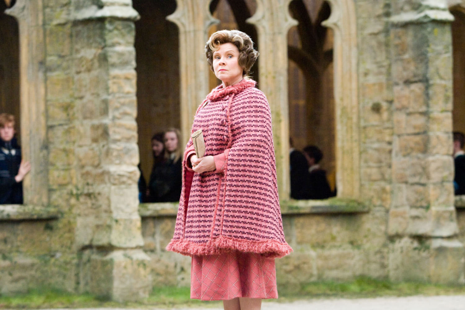 Umbridge in the grounds
