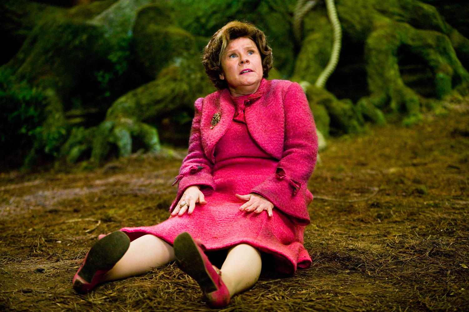 Umbridge on the Forest floor