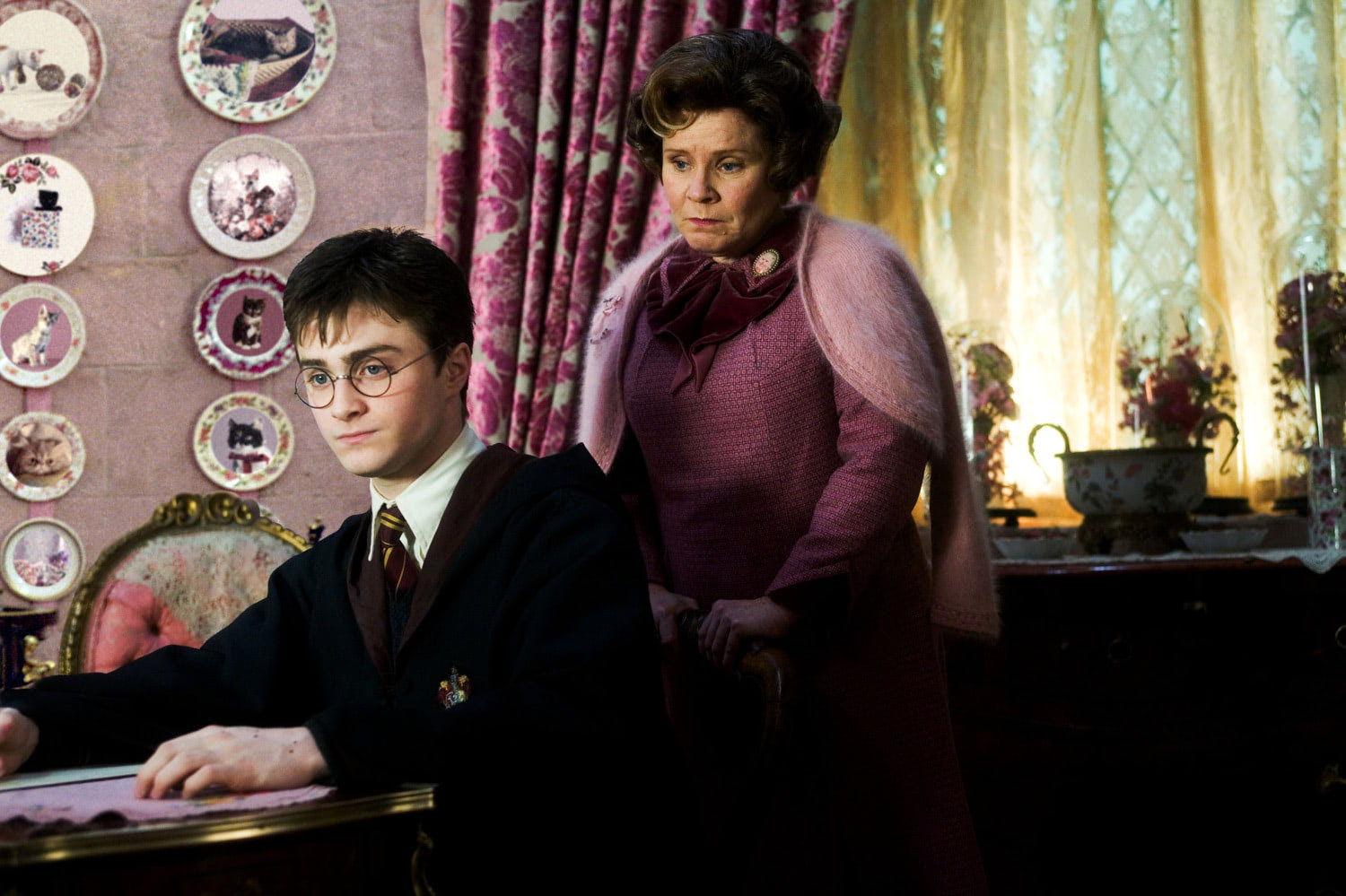Umbridge punishes Harry