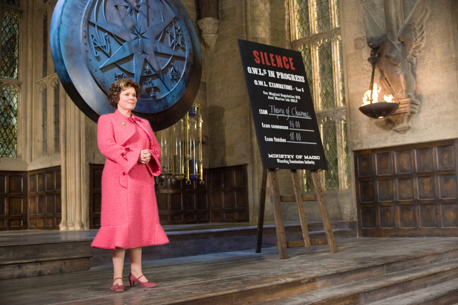 Umbridge watches over O.W.L exams