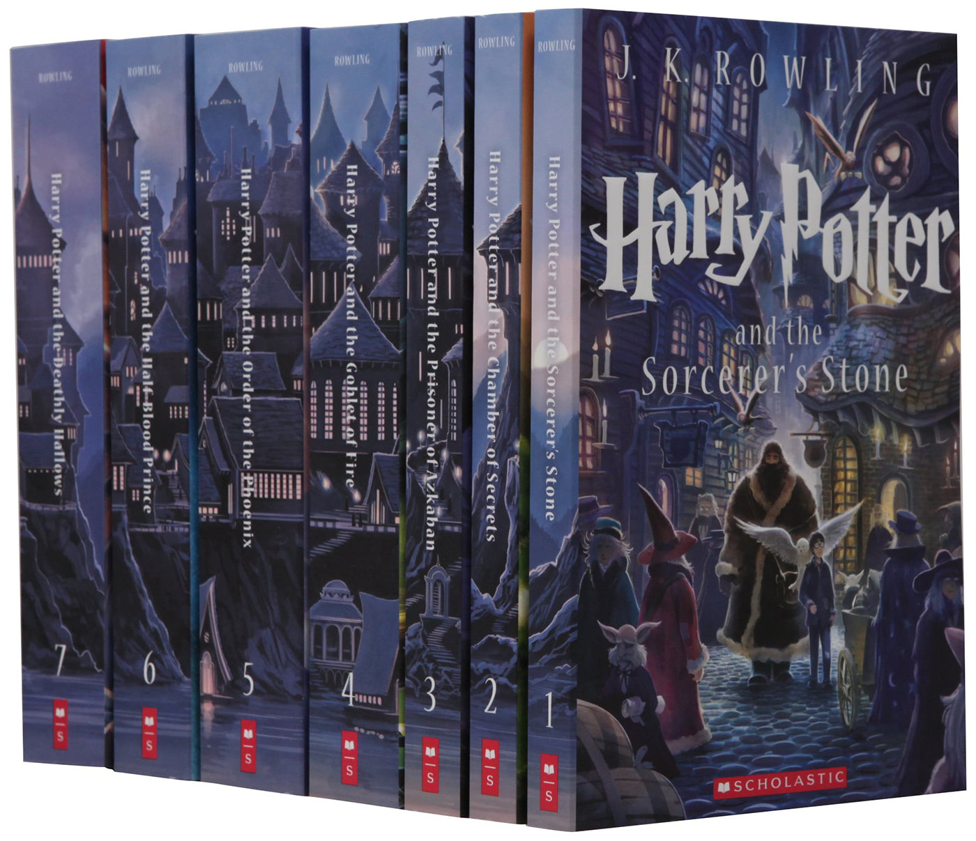 Scholastic 'Harry Potter' boxed set (US 2013 editions)