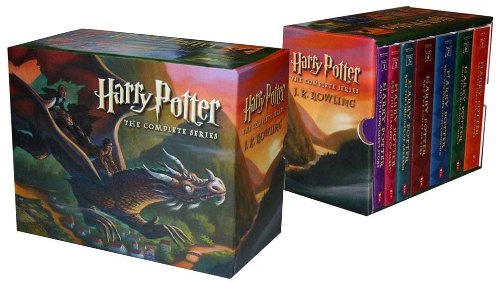 Scholastic 'Harry Potter' boxed set (US)