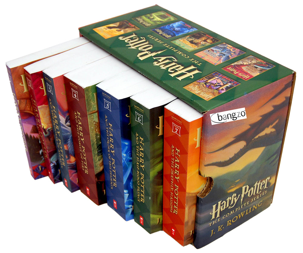 Scholastic 'Harry Potter' boxed set (US)