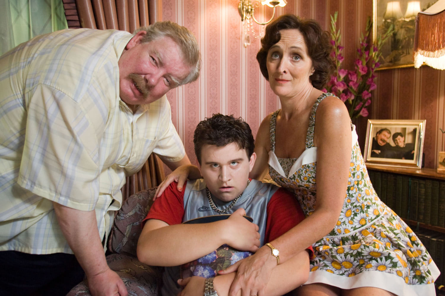 Vernon, Dudley and Petunia Dursley