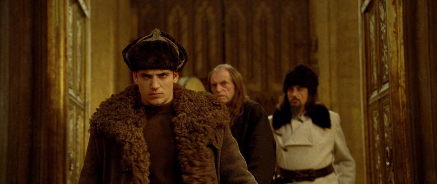 Viktor Krum arrives at Hogwarts