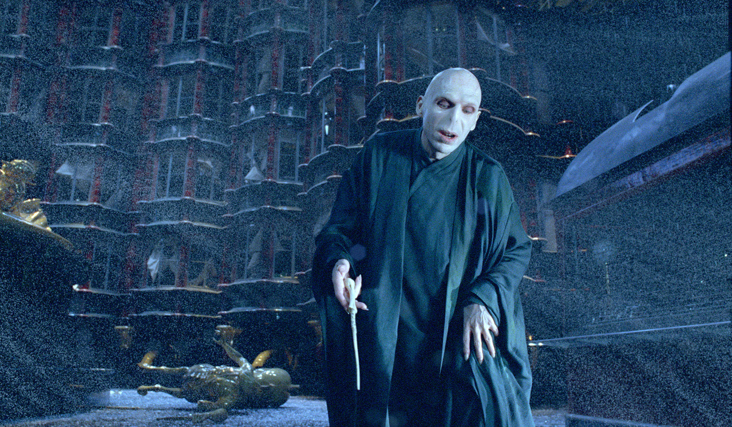 Voldemort in the Ministry of Magic
