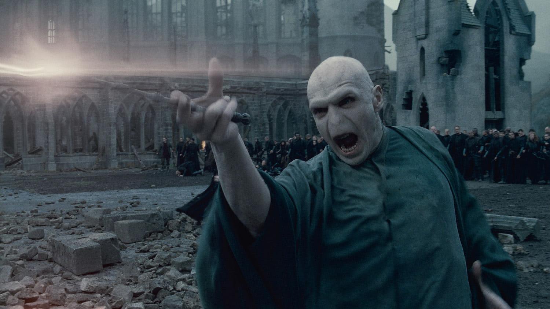 Voldemort fires a curse